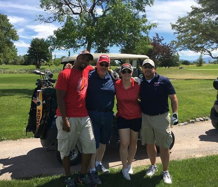 SERVPRO's 1st DAV Golf Tournament
