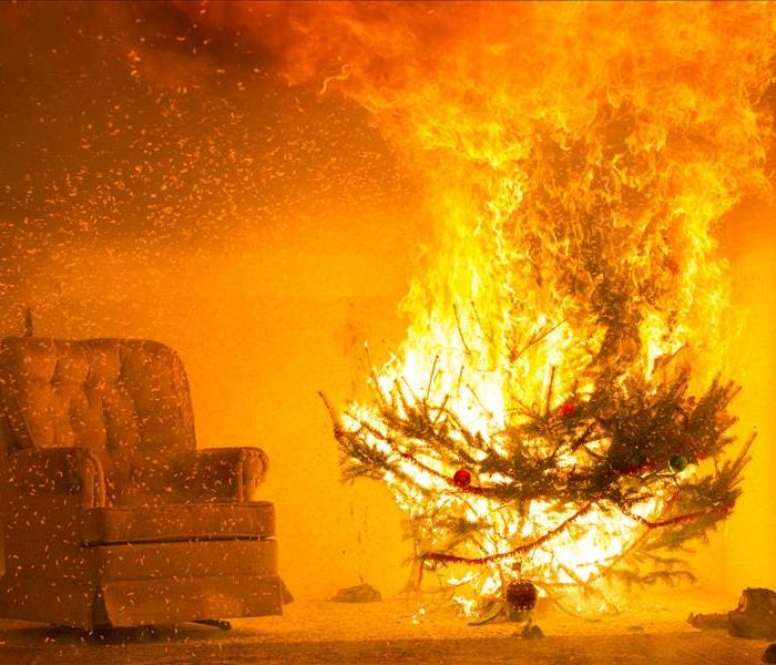 Fire Damage Christmas Holiday Safety